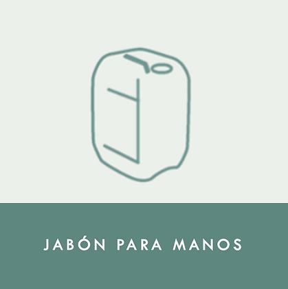 JABÓN PARA MANOS