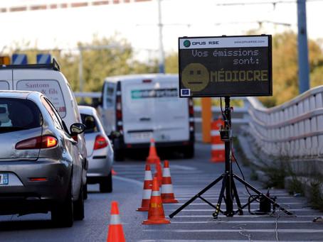 Mesures des émissions des véhicules à Marseille