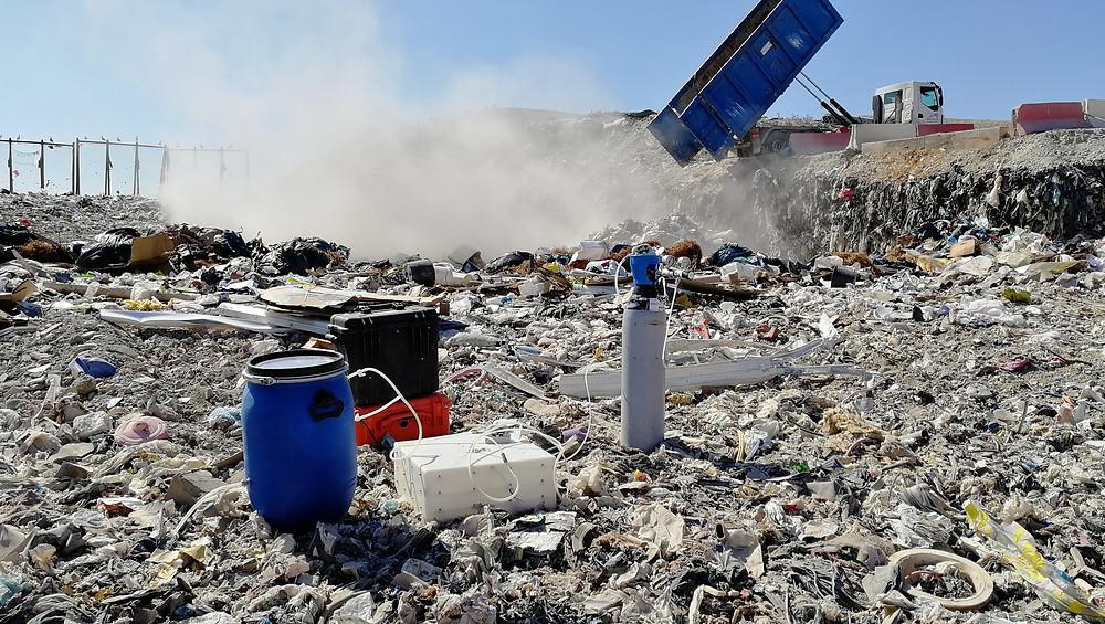 Rincent Air, Impact industriel, Mesures odeurs, NF EN 13725, Déchetterie