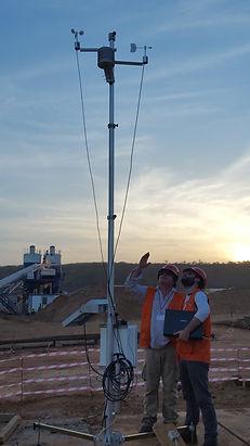 Une partie de l'équipe Rincent Air au Mali