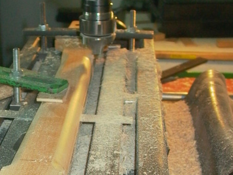 Fabrication d'un manche 2