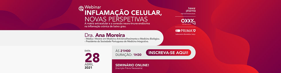 Webinar Inflamacao Celular, Novas Perspe