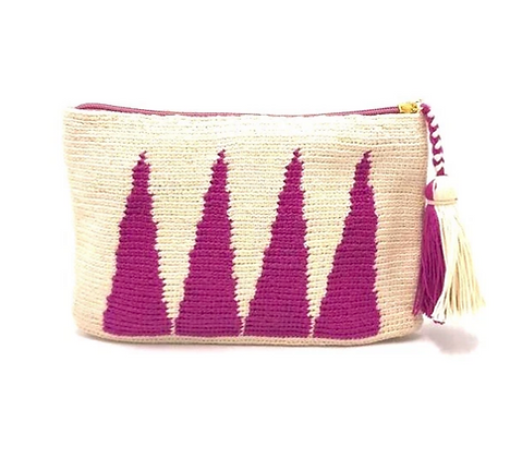 I LOVE SYRIA Clutch - Purple