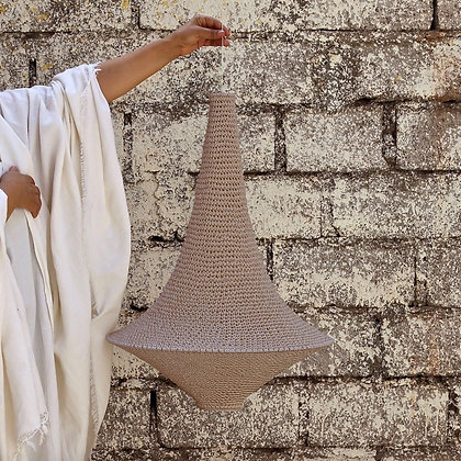 SMALL Wahad Crochet Light - Moroccan Clay