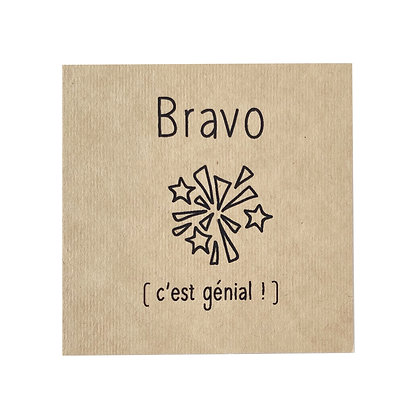 Greeting Card - Bravo
