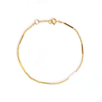 Bar & Link Chain Bracelet