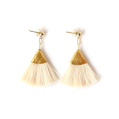 Josie Tassel Earrings - Champagne