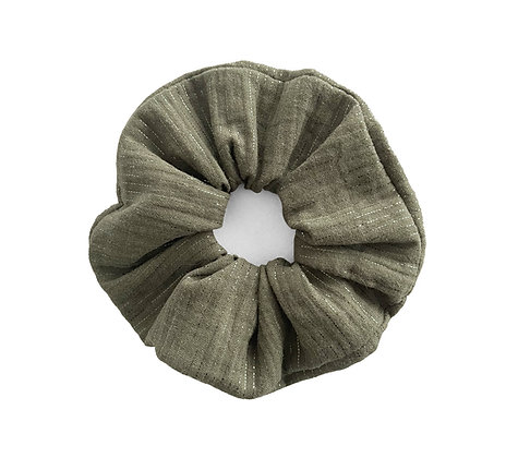 Metallic Green - Scrunchie