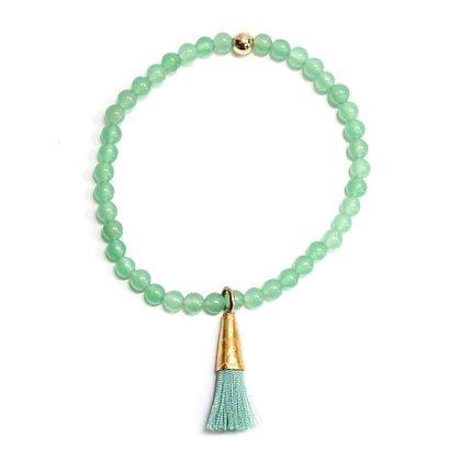 Bracelet de Jade Verte