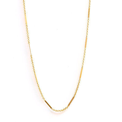 Bar & Link Chain Necklace