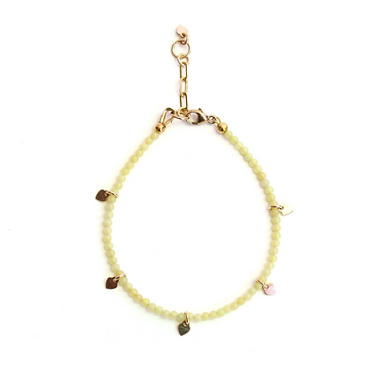 Gemstone Bracelet - Lemon Quartz