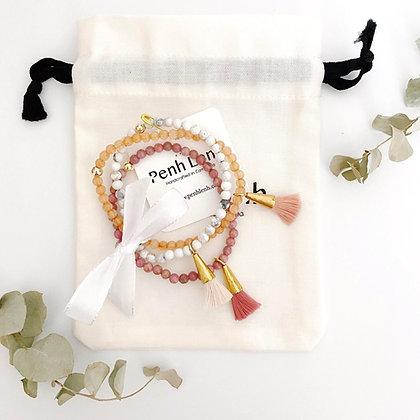 Set of 3 Tassel Bracelets