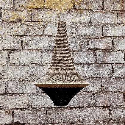 SMALL Wahad Crochet Light - Beige & Black