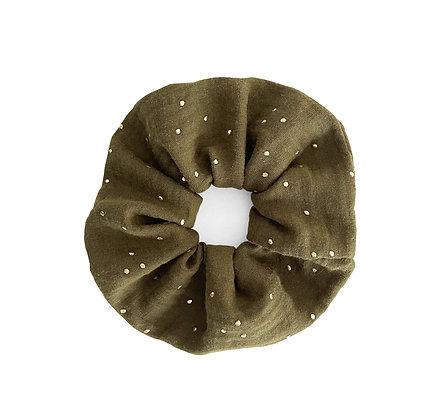 Kaki - Scrunchie
