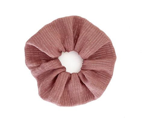 Metallic Pink - Scrunchie