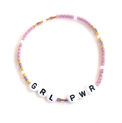 GRL PWR Bracelet - Pink