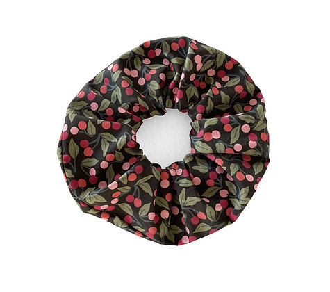 Picadilly Poplin Cherry - Scrunchie