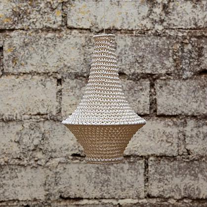SMALL Wahad Crochet Light - Beige
