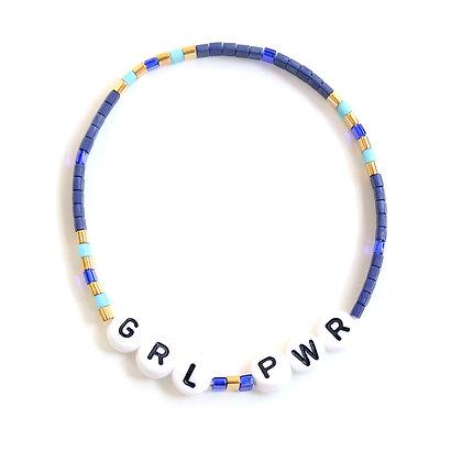 GRL PWR Bracelet - Blue