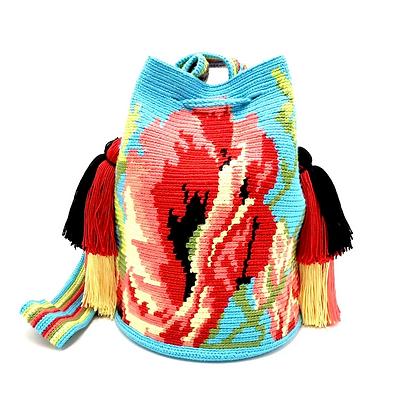 I LOVE Syria - Poppy Flower Bag