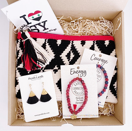 """Red & Black"" - Giftset"