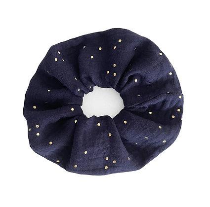 Dark blue - Scrunchie
