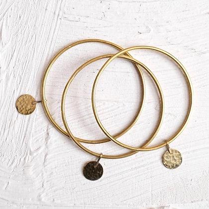 Set de 3 Bracelets en Laiton