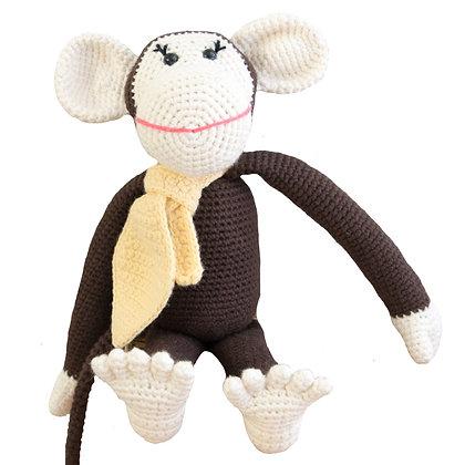 Momo the Monkey - Brown