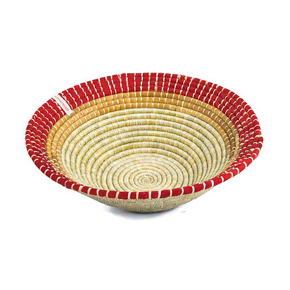 Large Fruit Bowl - Red