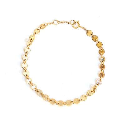 Chain & Disc Bracelet
