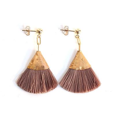 Josie Tassel Earrings - Cocoa