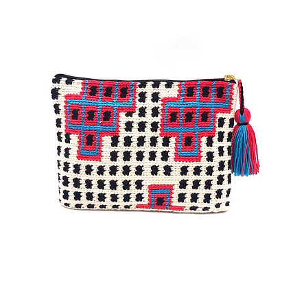 I LOVE SYRIA Clutch - Polkadot Pattern