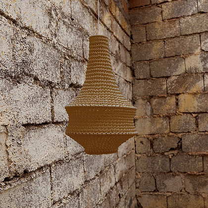 SMALL Joosh Crochet Light - Mustard