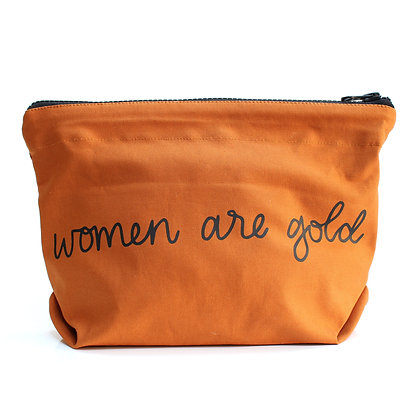 Women Are Gold Bag - Rust
