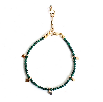 Gemstone Bracelet - Malachite