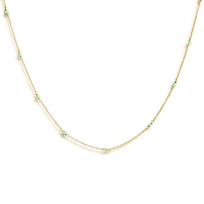 Light Jade Choker