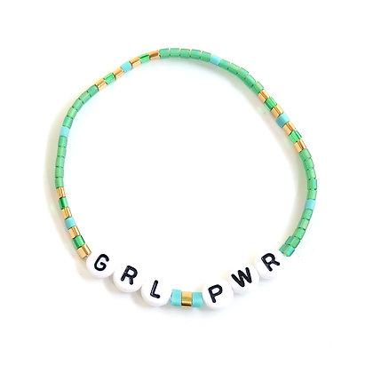 GRL PWR Bracelet - Green