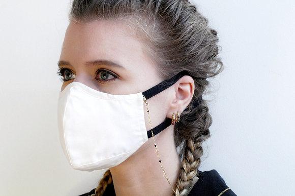 Mask Chain - Black Agate