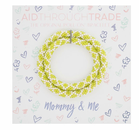 Mommy & Me - Apple Green