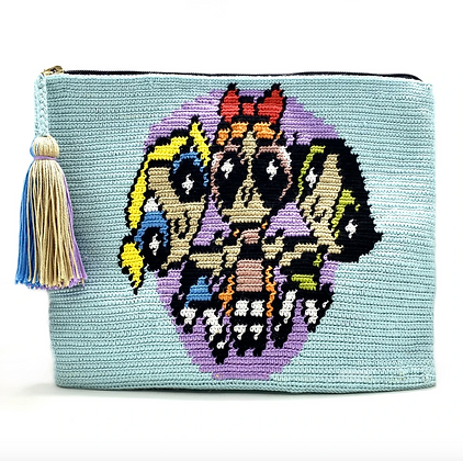 I LOVE SYRIA Clutch - Powerpuff Girls