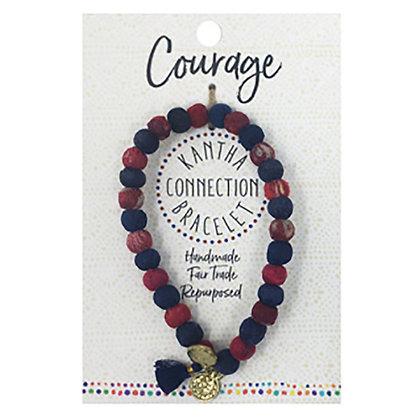 Kantha COURAGE Bracelet