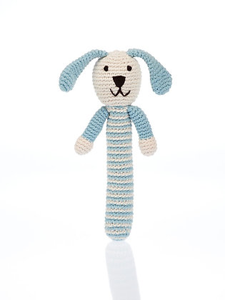 Bunny Rattle - Blue