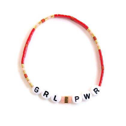 GRL PWR Bracelet - Red