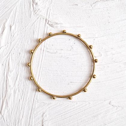 Brass Bangle Thin