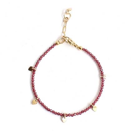 Gemstone Bracelet - Garnet