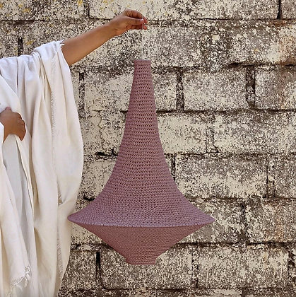 SMALL Wahad Crochet Light - Marrakech Blush