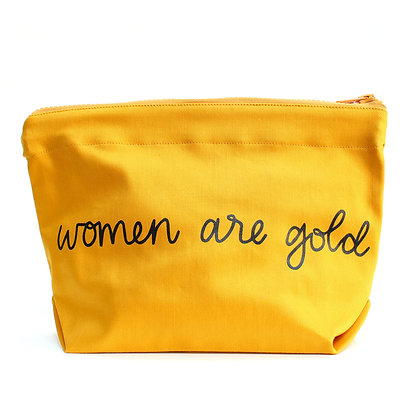 Women Are Gold Bag -Yellow