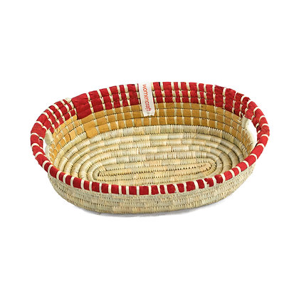 Large Bread Basket - Red