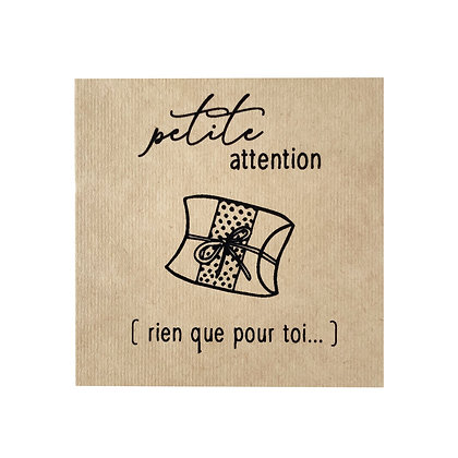 Greeting Card - Petite attention