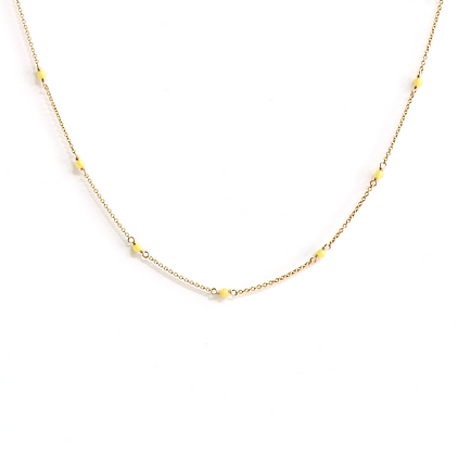 Lemon Quartz Choker